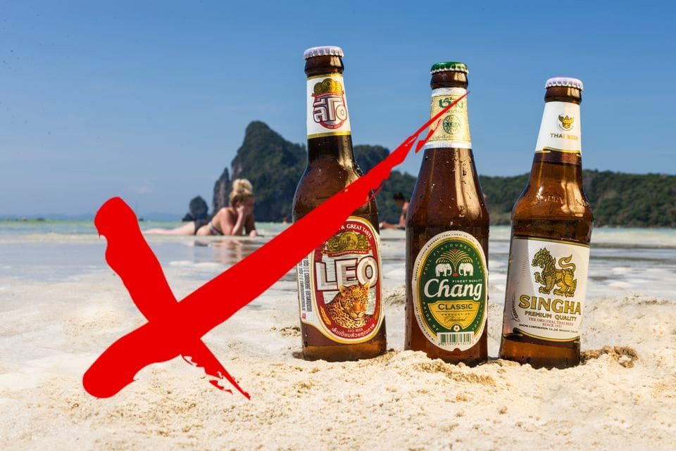 Government denies rumours of fines for online alcohol-related pics | Thaiger