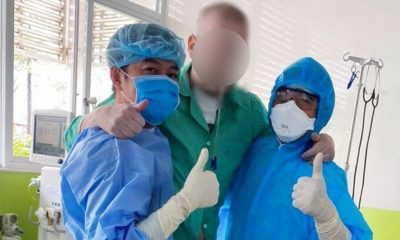 Cập nhật tình hình COVID-19 tại Việt Nam (Ngày T3 16/6): Không ghi nhận ca nhiễm nCoV mới, chỉ còn 5 bệnh nhân dương tính | The Thaiger