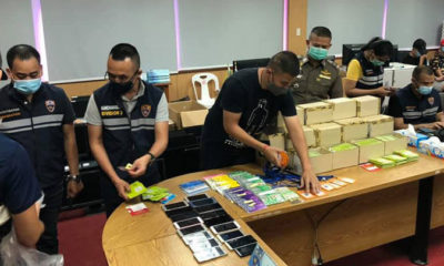25 arrested after police raid online gambling base in Mae Sot | Thaiger