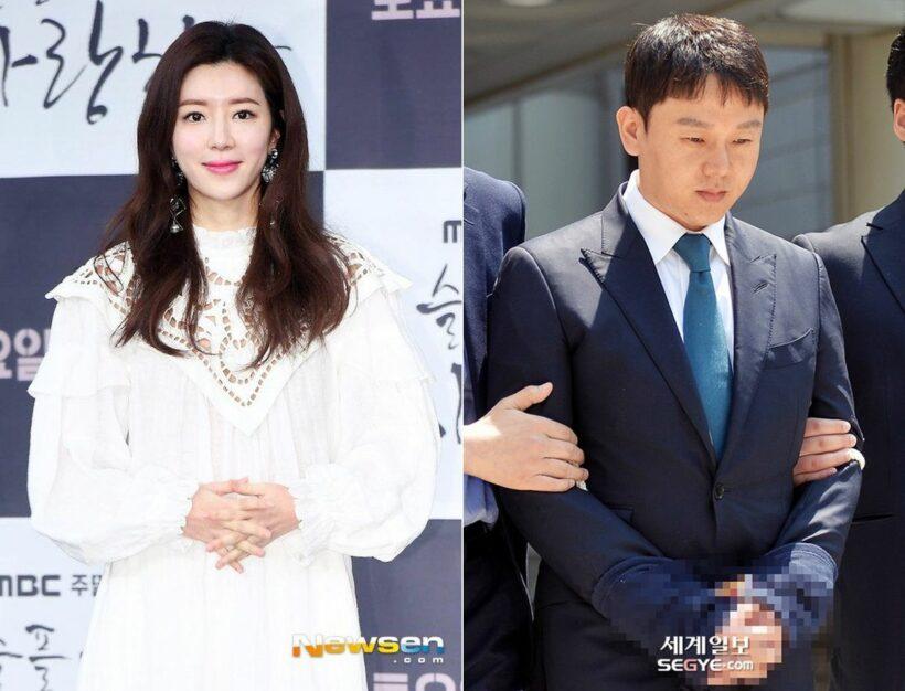 Chồng Park Han Byul thừa nhận môi giới mại dâm, biển thủ trong bê bối Burning Sun | Thaiger