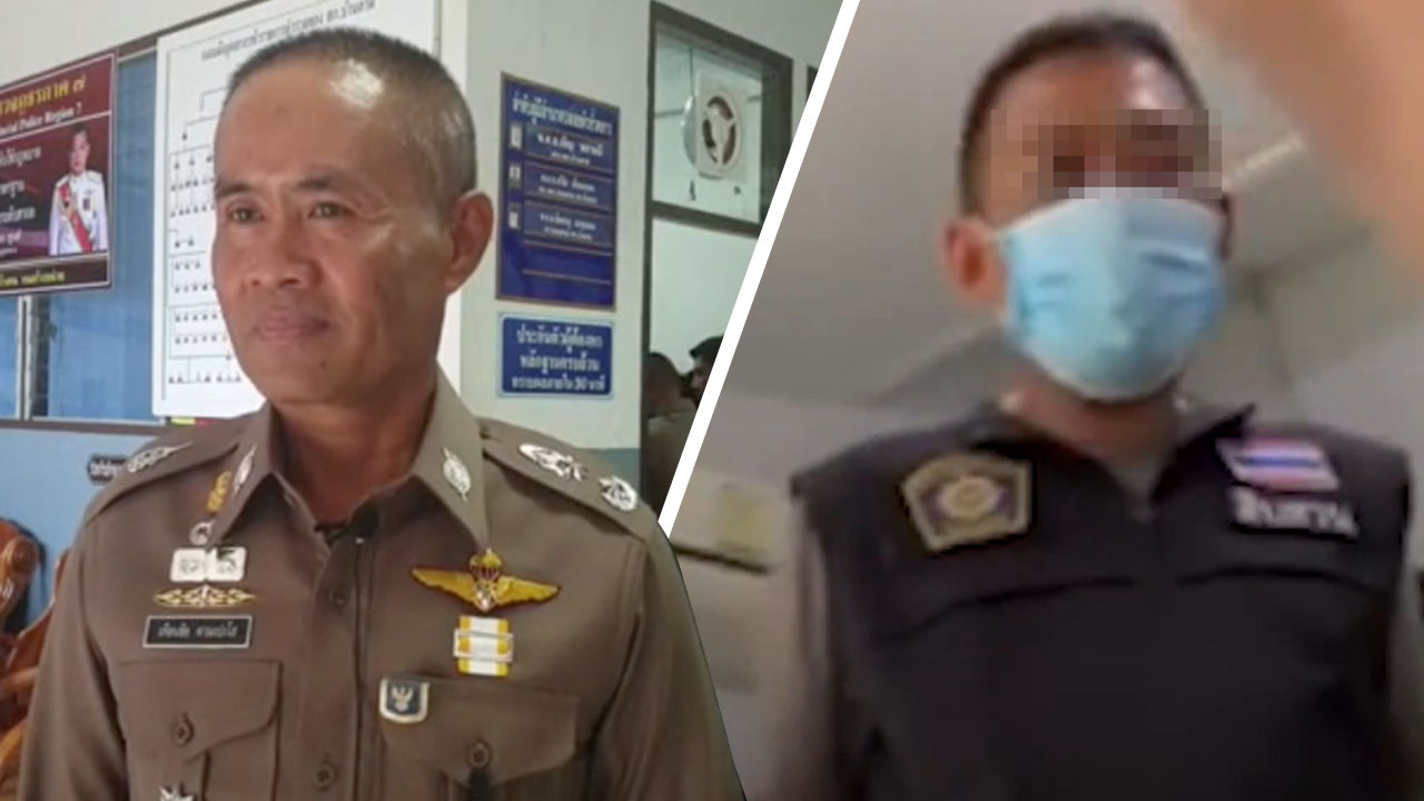 High-ranking police officers try and extort 40,000 baht from woman | The Thaiger