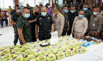 Police arrest 3, find 250 kilograms of crystal meth in truck in southern Thailand | The Thaiger