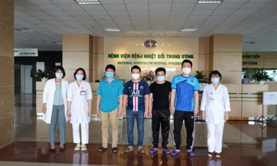 Cập nhật tình hình COVID-19 tại Việt Nam (Chiều T2 8/6): Ghi nhận 1 ca nhiễm nCoV mới, thêm 9 bệnh nhân ra viện | The Thaiger