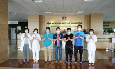Cập nhật tình hình COVID-19 tại Việt Nam (Ngày T6 5/6): Không ghi nhận ca nhiễm nCoV mới, thêm 5 bệnh nhân ra viện | The Thaiger