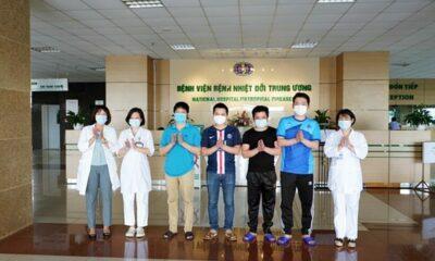 Cập nhật tình hình COVID-19 tại Việt Nam (Ngày T3 2/6): Không ghi nhận ca nhiễm nCoV mới, thêm 5 trường hợp khỏi bệnh | The Thaiger