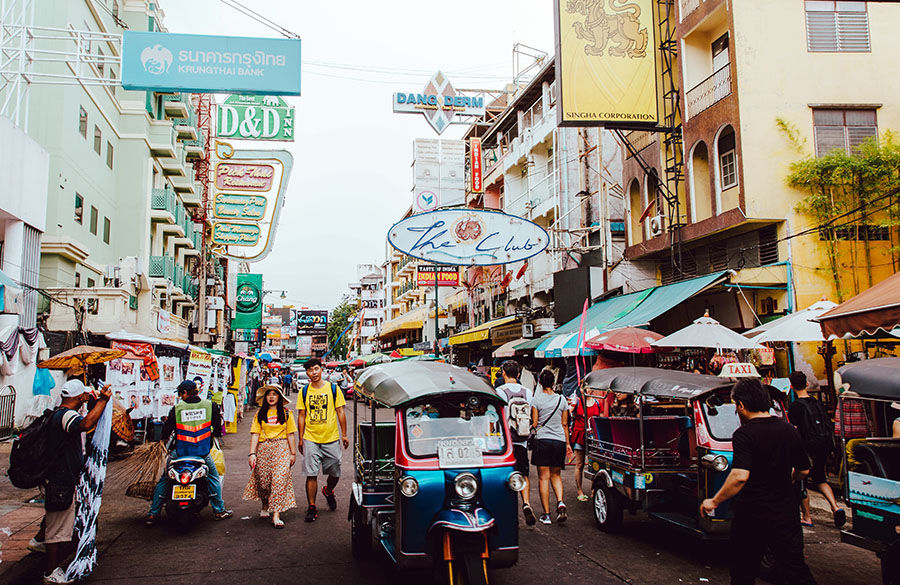 Bangkok's revamped Khaosan Road may reopen in August, without international tourists | The Thaiger