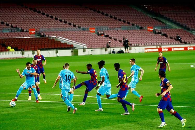 Highlights trận Barcelona vs Leganes (vòng 29 La Liga): Barca thắng trận thứ ba liên tiếp, bỏ xa Real Madrid   News by Thaiger