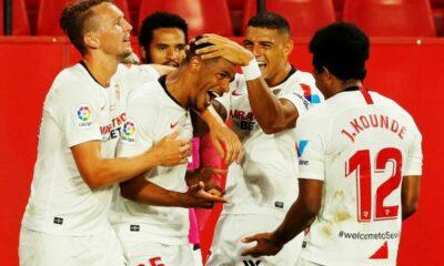 Highlights trận Seville vs Betis: La Liga gay cấn ngày trở lại | Thaiger