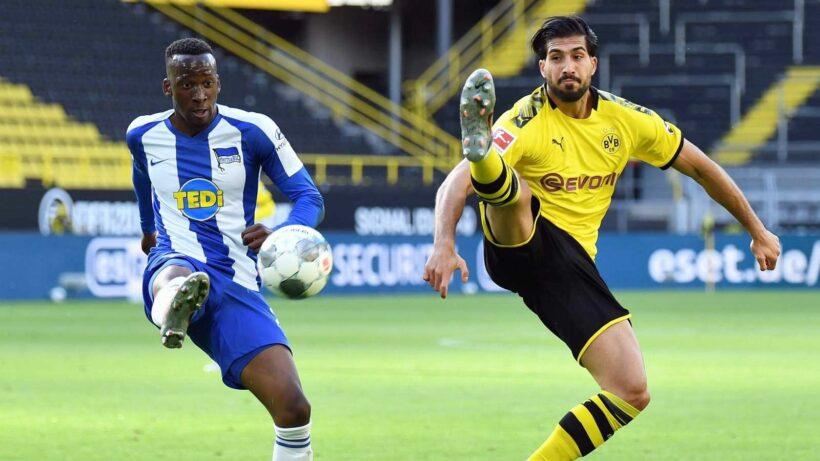 Highlights trận Borussia Dortmund vs Hertha Berlin (Vòng 29 giải VĐQG Đức Bundesliga 2019/20): Chiến thắng nhọc nhằn   News by Thaiger