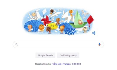 Google Doodle chúc mừng Ngày Thiếu nhi 1/6   Thaiger