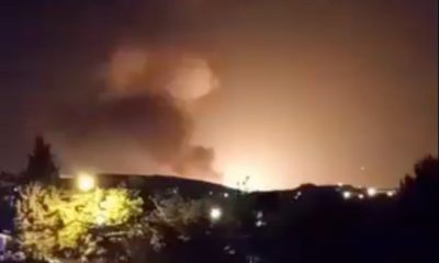 Large explosion lights up Tehran, Iran | Thaiger