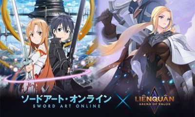Tin chính thức: Liên Quân Mobile hợp tác cùng Sword Art Online trong dự án mới | Thaiger