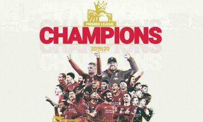 Chính thức: Liverpool vô địch Ngoại hạng Anh (Premier League) 2019/20 | Thaiger