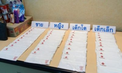 Thai Red Cross donates millions of cloth face masks   Thaiger
