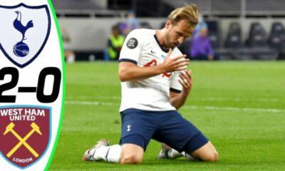Highlights trận Tottenham vs West Ham: Dứt mạch bảy trận không thắng, áp sát MU | Thaiger