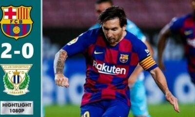 Highlights trận Barcelona vs Leganes (vòng 29 La Liga): Barca thắng trận thứ ba liên tiếp, bỏ xa Real Madrid | Thaiger