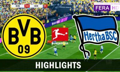 Highlights trận Borussia Dortmund vs Hertha Berlin (Vòng 29 giải VĐQG Đức Bundesliga 2019/20): Chiến thắng nhọc nhằn | Thaiger