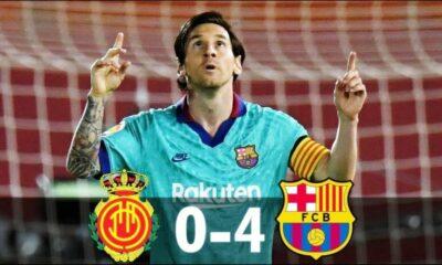 Highlights trận Mallorca vs Barcelona: Thắng tưng bừng ngày La Liga tái xuất | Thaiger