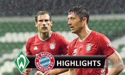 Highlights Werder Bremen vs Bayern Munich: Bayern vô địch giải VĐQG Đức Bundesliga mùa thứ 8 liên tiếp | The Thaiger