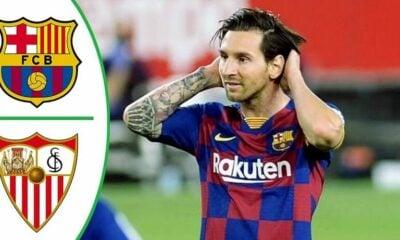 Highlights trận Barcelona vs Sevilla (Vòng 30 La Liga): Bị cầm hòa, Barca nguy cơ bị vượt | Thaiger