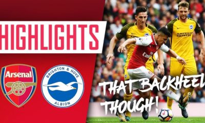 "Highlights trận Arsenal vs Brighton (Premier League): ""Pháo thủ"" thất bại ê chề 