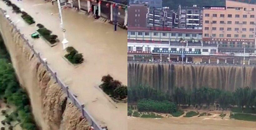 Đập Tam Hiệp đe dọa hàng trăm triệu sinh mạng sống lân cận | News by Thaiger
