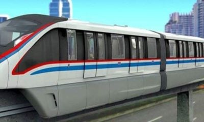 """Gold Line"" monorail will bring more mass transport to the Chao Phraya west bank 