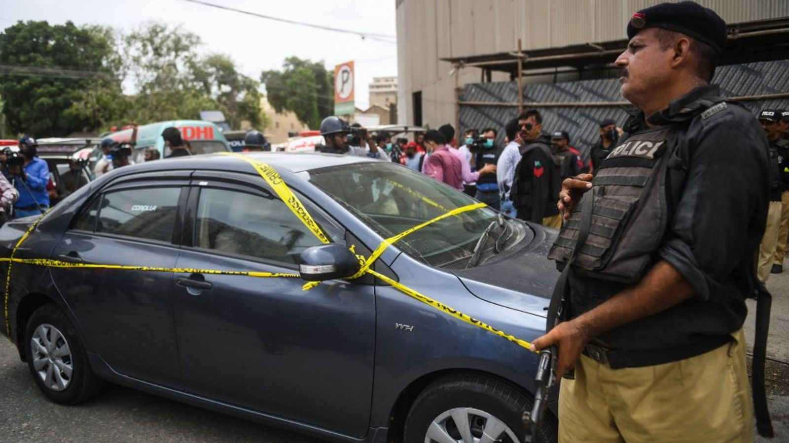 Gunmen attack Pakistan stock exchange | News by The Thaiger