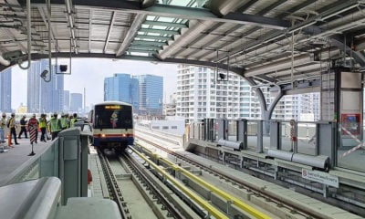 4 new BTS stations open, free until the end of the year | The Thaiger