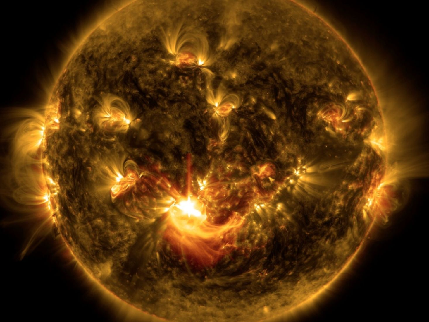 NASA reveal 10 year time-lapse of the sun – VIDEO | The Thaiger