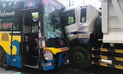 Lâm Đồng: Ô tô khách và xe ben đâm trực diện khiến đèo Bảo Lộc kẹt cứng nhiều giờ | Thaiger