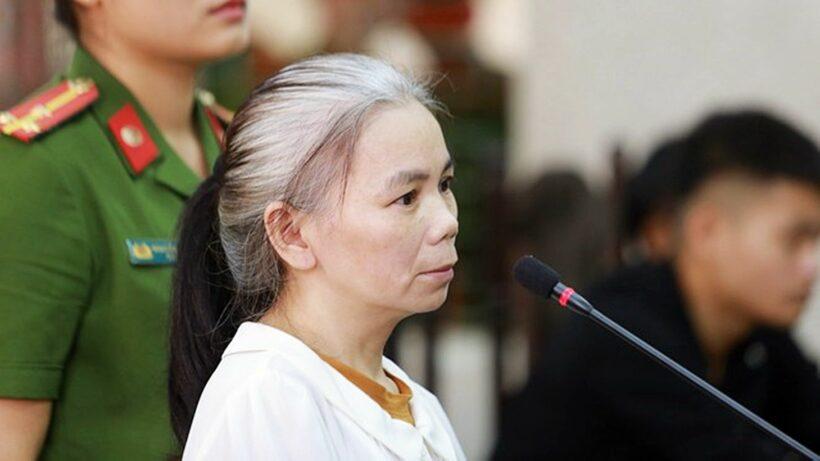 Vụ nữ sinh giao gà bị sát hại: Bùi Thị Kim Thu tóc bạc trắng hầu tòa phiên phúc thẩm | Thaiger