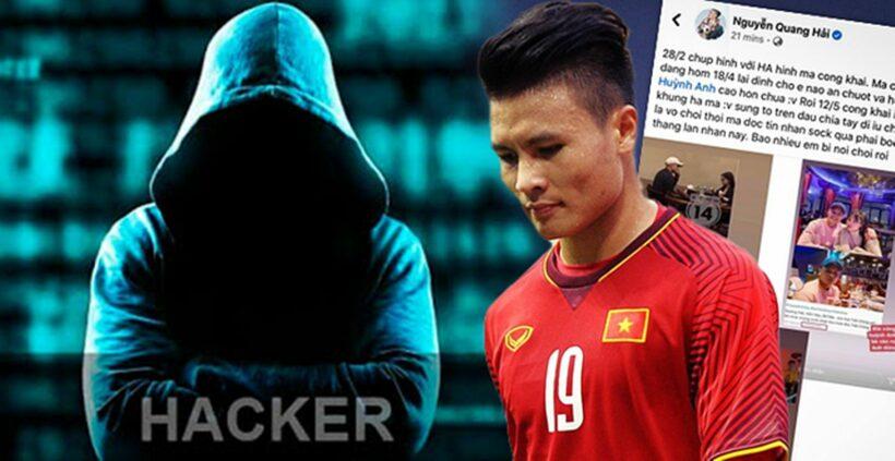 Quang Hải bị hack Facebook cá nhân, bí mật đời tư bị hacker tiết lộ   The Thaiger
