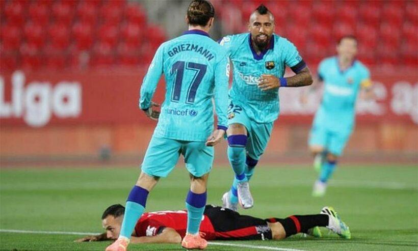 Highlights trận Mallorca vs Barcelona: Thắng tưng bừng ngày La Liga tái xuất   News by Thaiger