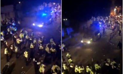 London police attacked after responding to illegal event | The Thaiger