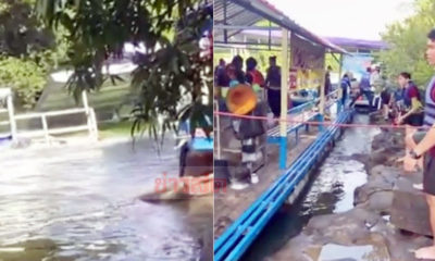Lucky escape for rafting group after dam floodgate opens – VIDEO | Thaiger