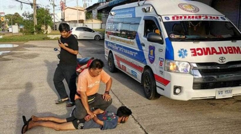 Man arrested for stealing Phuket ambulance | Thaiger