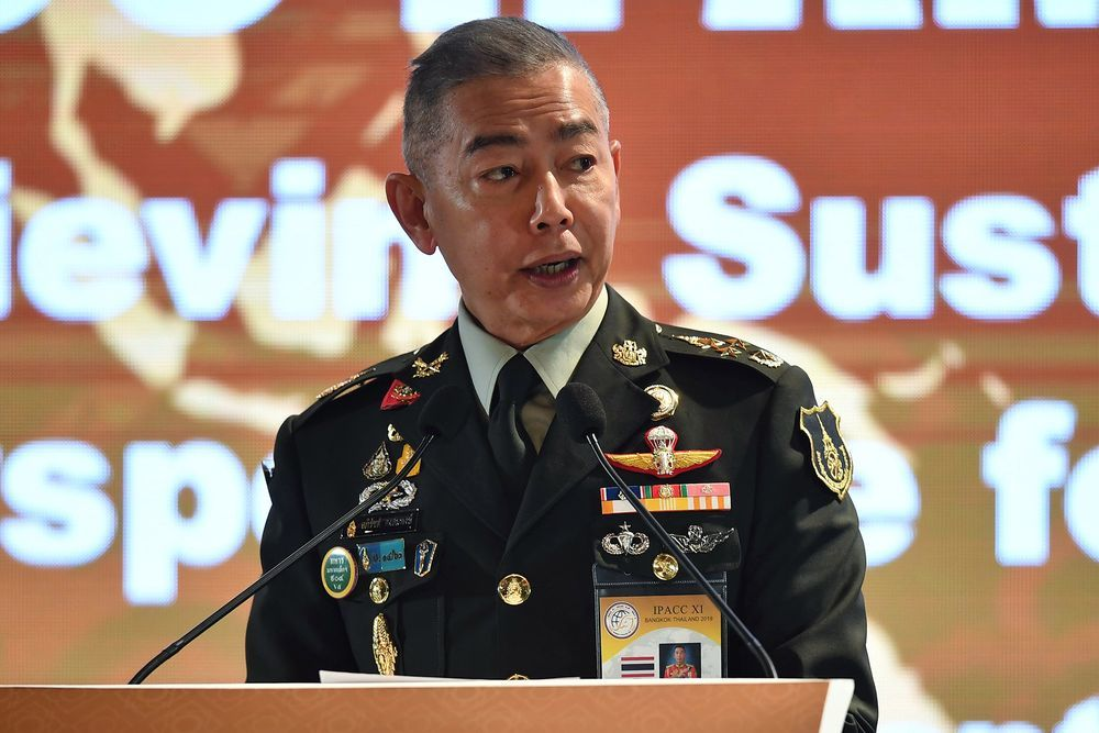Outgoing army chief says no plans for US base on Thai soil | The Thaiger