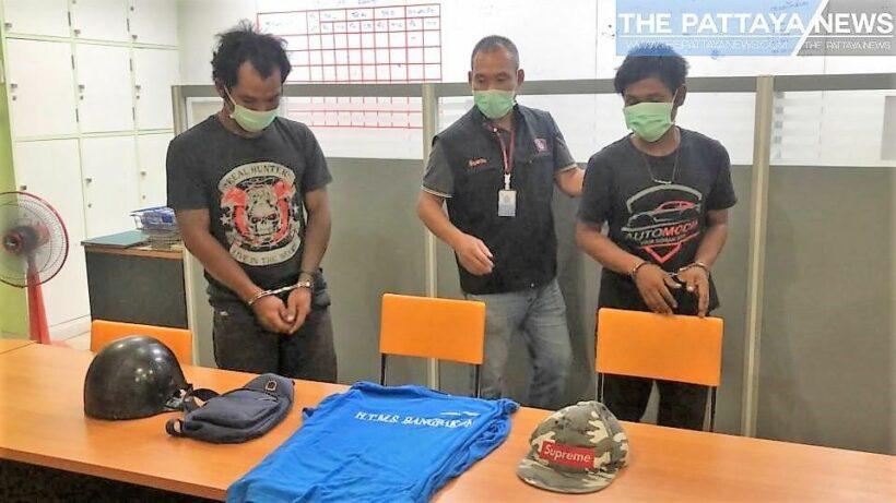 Two men in custody after British man's motorbike stolen in Pattaya – VIDEO | The Thaiger