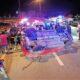 Speeding car in Pattaya flips and injures 5 teenagers – VIDEO | Thaiger