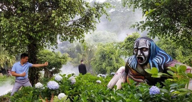Lâm Đồng: Khu du lịch Quỷ Núi gây phản cảm vì có nhiều tượng quái dị, dâm dục   News by Thaiger