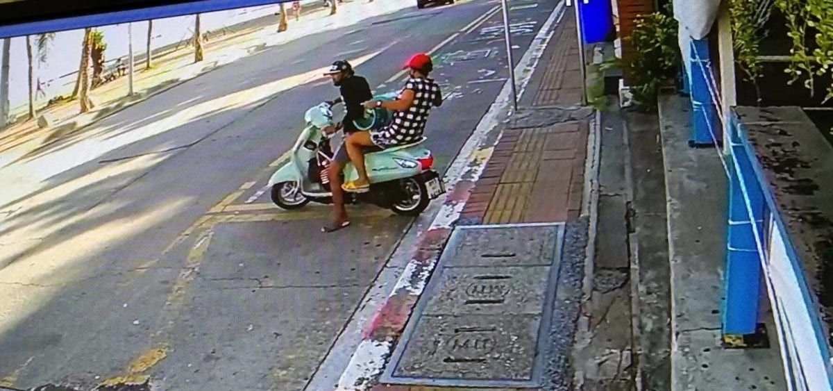 Couple nabbed after footage shows them stealing gas cylinders | Thaiger