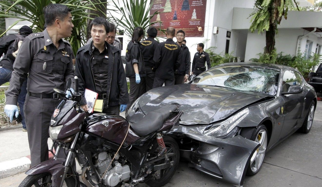 """Hit-and-run charges against Red Bull heir """"Boss"""" Yoovidhya dropped 