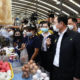 """PM and Health Minister give """"moral support"""" visit to Rayong amid Covid scare 