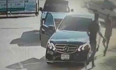 Khon Kaen Benz driver under fire after road rage video goes viral | Thaiger