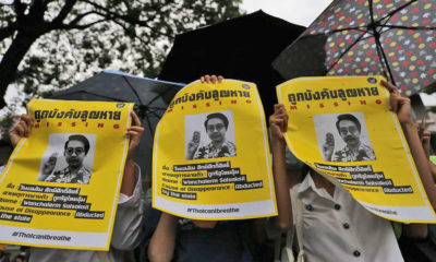 Still no word on abducted activist as UN deadline passes | Thaiger