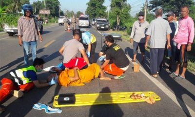 Elderly British man killed, monk injured, in Isaan collision | Thaiger