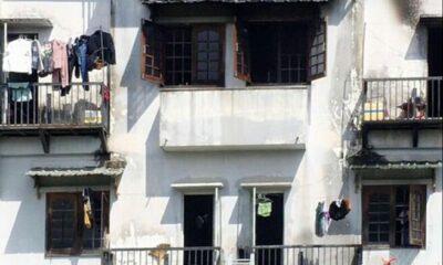 TP. HCM: Nhà trọ 5 tầng bốc cháy, 6 người bị mắc kẹt | The Thaiger