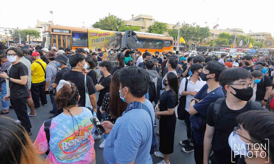 Bangkok sees biggest anti-government rally in months | News by Thaiger