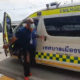 Seriously ill Burmese man found nearly unconscious at Nonthaburi bus stop – VIDEO   Thaiger